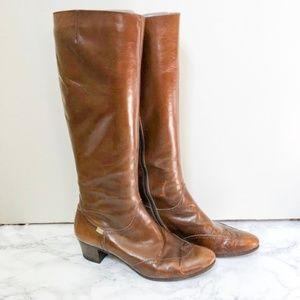 Vintage Salvatore Ferragamo Riding Boots